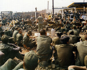 US-Army-Band-playing-Christmas-music-at-Tan-Son-Nhut-Airbase-Vietnam-Photo-Print