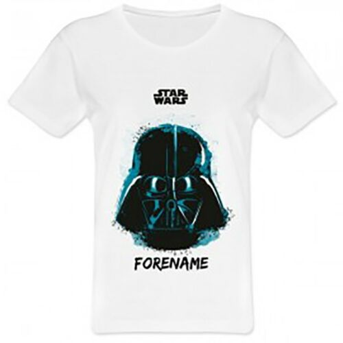 Star Wars Personalised Ladies T-Shirt DARTH VADER PAINT