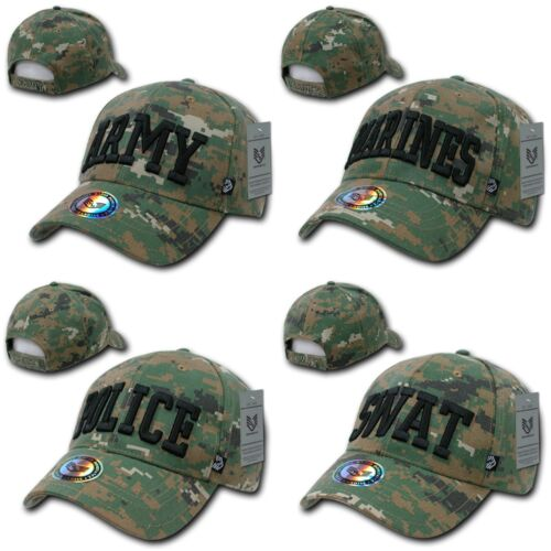 Rapid Dominance Military Digital Camouflage Military Cotton Caps Hats