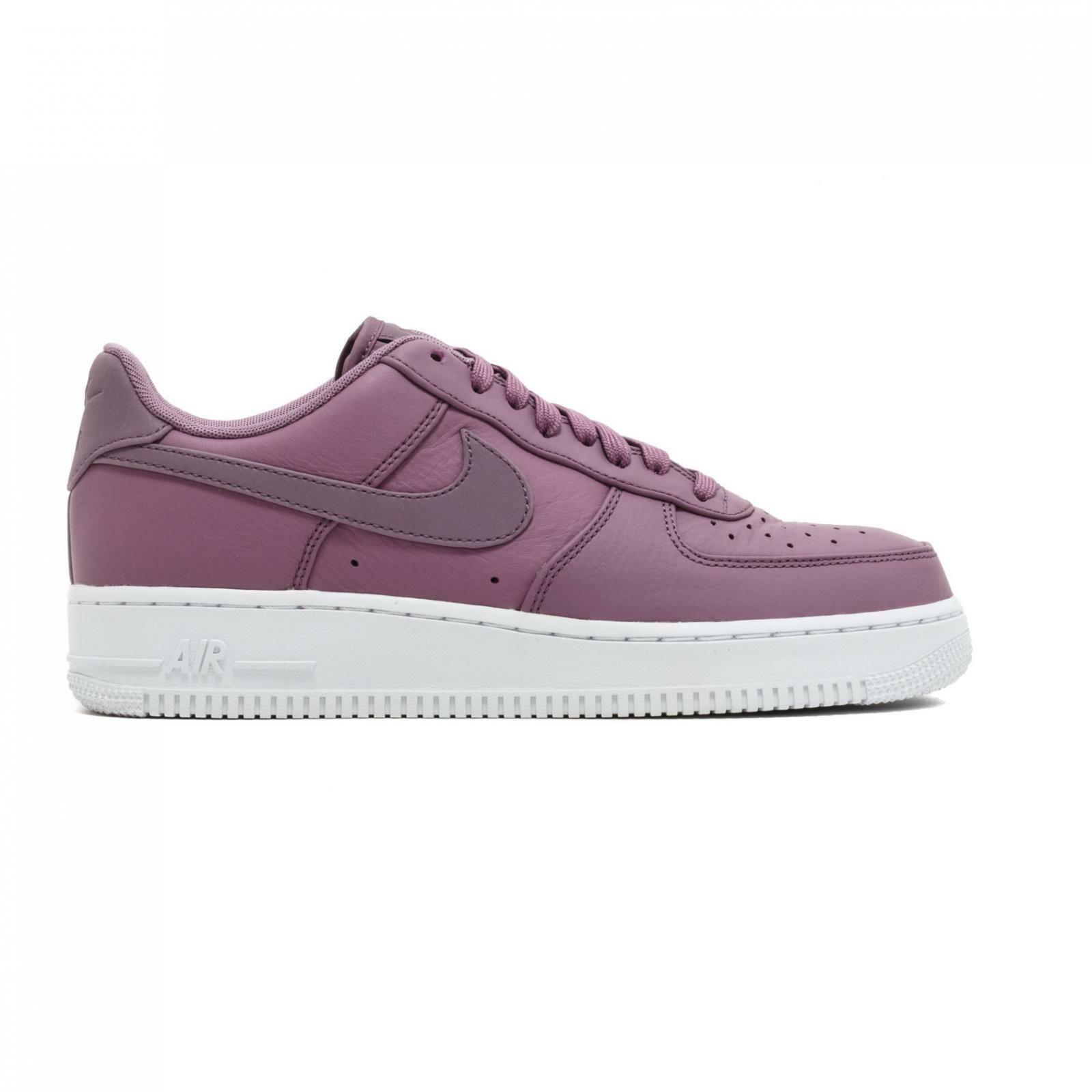 Mens NIKE AIR FORCE 1 07 PREMIUM purple Trainers 905345 501