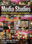 Media Studies: Texts, Production and Context by Paul Long, Tim Wall (Paperback, 2009)
