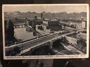 1938-Munich-Obersalzberg-Germany-Postcard-Cover-Multi-Eternal-Jew-Exhibit-Cancel