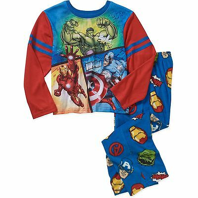 NWT Old Navy Marvel Superhero Pajama Sleep Pants Iron Man Hulk Boys 6 7 8 10 12