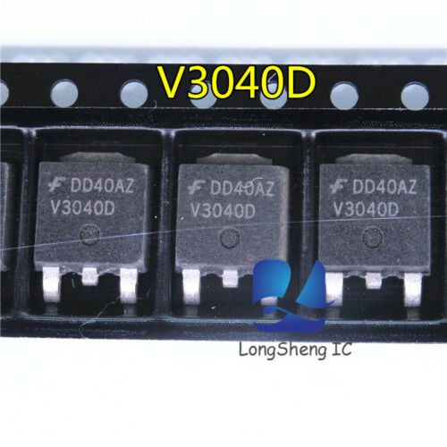 1 PCS ISL9V3040D3ST ISL9V3040D V3040D TO-252 EcoSPARKTM 300mJ 400V N-CH new