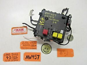 saab 9 3 boot fuse box 03 saab 9 3 fuse box wire panel trunk dash 12801000 2 0l engine  saab 9 3 fuse box wire panel trunk dash