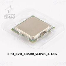 Intel Core 2 Duo E8500 3.16GHz SLB9K LGA775 Dual-Core CPU Working Pull