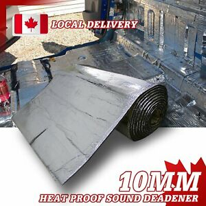 MGT Truck RV Heat Insulation Soundproofing Noise Refective Block Material 4sq.m