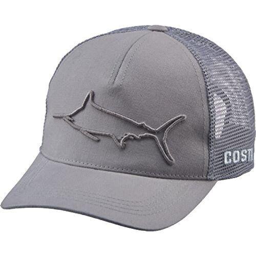 8c5fa1aa6cf Costa Del Mar Stealth Marlin Hat Gray