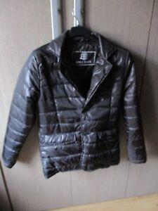 huge selection of b4ba0 26294 Dettagli su Giubbino-Piumino uomo Slim fit nero lucido MALE XXIUS modello  giacca elegante