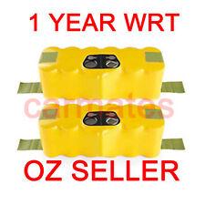 2 X Battery For iRobot Roomba 500 3.0Ah Ni-MH HeavyDuty 532 537 550 560 570 580