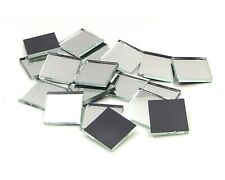 Reg Pack Diamond Strips Triangles Squares Rectangles White Opal Cut Glass Mosaic Fusible 96 Tile Shapes