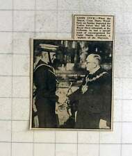 1949 Cadet Martin Gresham Encouraged At Royal Show Rehearsals Coliseum