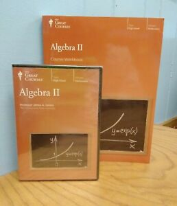 The-Great-Courses-Algebra-II-NEW-DVD-and-Unused-Workbook