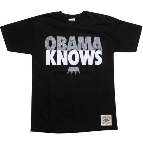 $39.99 Under Crown Obama Knows Tee 10444WHTEL black // elephant print // white