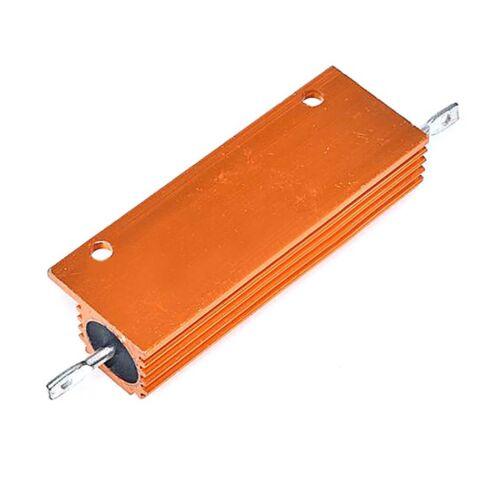 RX24 50W 100W Aluminum Metal Shell High Power Case Heatsink Resistor 5/% 0.1Ω-1KΩ