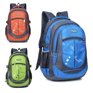 Best 2018 Kids School Bag Girls Boys Backpack Teenagers Travel Outdoor Rucksacs