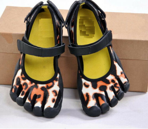 7213 Mens Sports Fingers Toes Socks Leopard Running Trainers Climbing Yoga Shoes