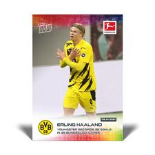 2020 Topps Now Bundesliga Rookie Card Erling Haaland Golden boy PRE-ORDER