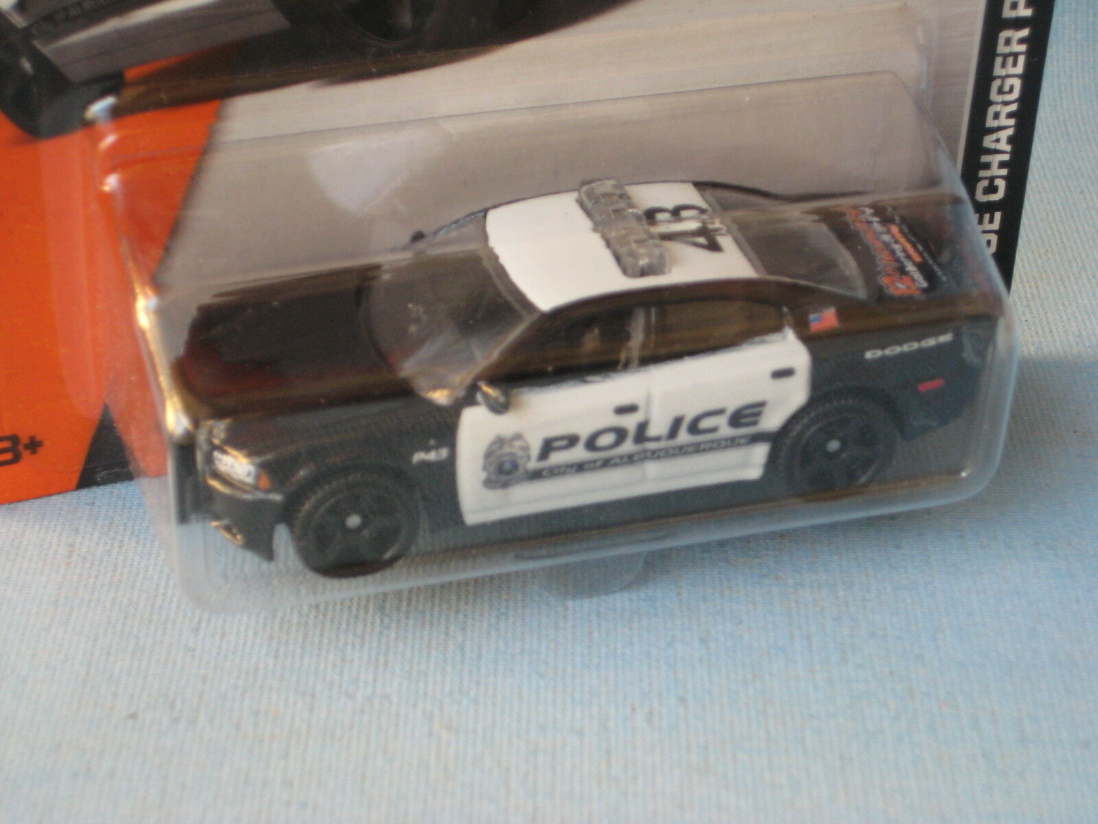 Matchbox Dodge Charger Police ABQ 2014 MB Gathering USA Dealer Model RARE 70mm