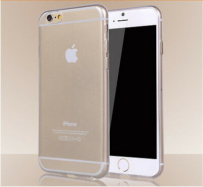 "Luxury Ultra Thin Slim Soft TPU Silicone Rubber Gel Case Cover for 4.7"" iPhone 6"