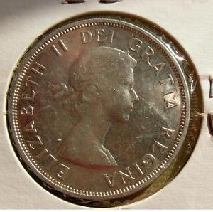 Canada Silver Dollar   high grade  1959   AU - UNC    ???   LOT CAN 105