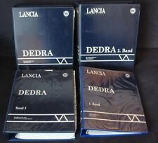 Werkstatthandbuch Lancia Dedra 4 Bände Motor Bremsen Kupplung Getriebe März 1989