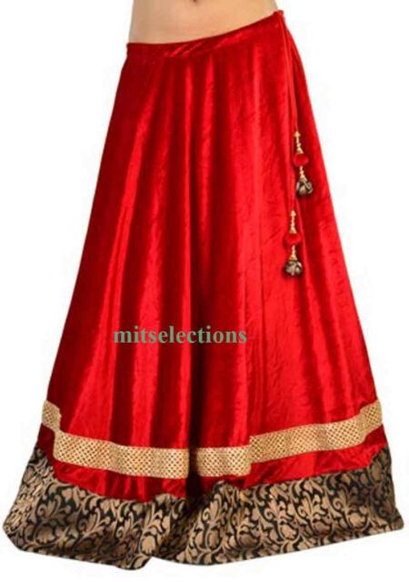 Special 2017 Bellydance Skirt Lengha Tribal Bollywood Indian traditional skirt