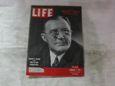 Vintage Life Magazine January 1st 1951 Charles E. Wilson Published By Time mg422