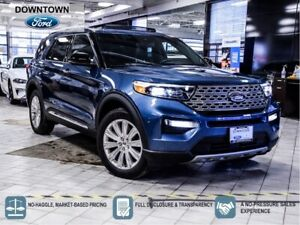 2020 Ford Explorer Limited|FORD DEMO|LOW KM|360 CAM|PANO ROOF|TOW PKG