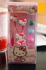 Hello Kitty Earphone Girls 3.5mm Cartoon Headset for Cell Phone universal MP3