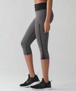 Lululemon-Smooth-Stride-Crop-Heathered-Black-Black-Sz-4-Full-On-Luxtreme