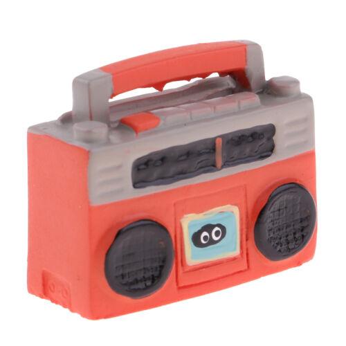 MagiDeal 1//12 Puppenhaus Miniatur Recorder für Wohnzimmer Schlafzimmer