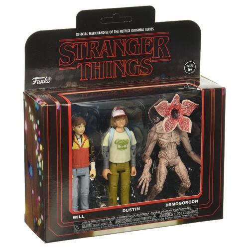 Funko Stranger Things Actionfigur 3er-pack Sammler Set