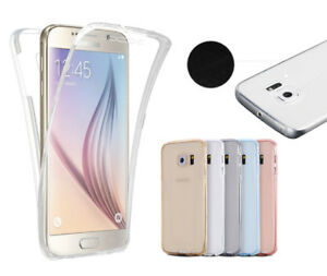Samsung-S9-S8-Plus-S7-S6-S5-edge-Note-9-8-5-Slim-360-Clear-TPU-Case-Shockproof
