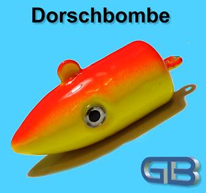 Meeresjig-Dorschbombe-25g-40g-50g-75g-Jig-Bleikopf-Kopf-Flexi-Kopf