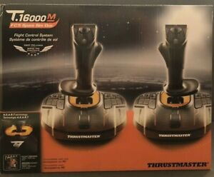 🔥BRAND NEW SHIPS NOW🔥 Thrustmaster T.16000M FCS Space Sim Duo (Windows/PC) Joy