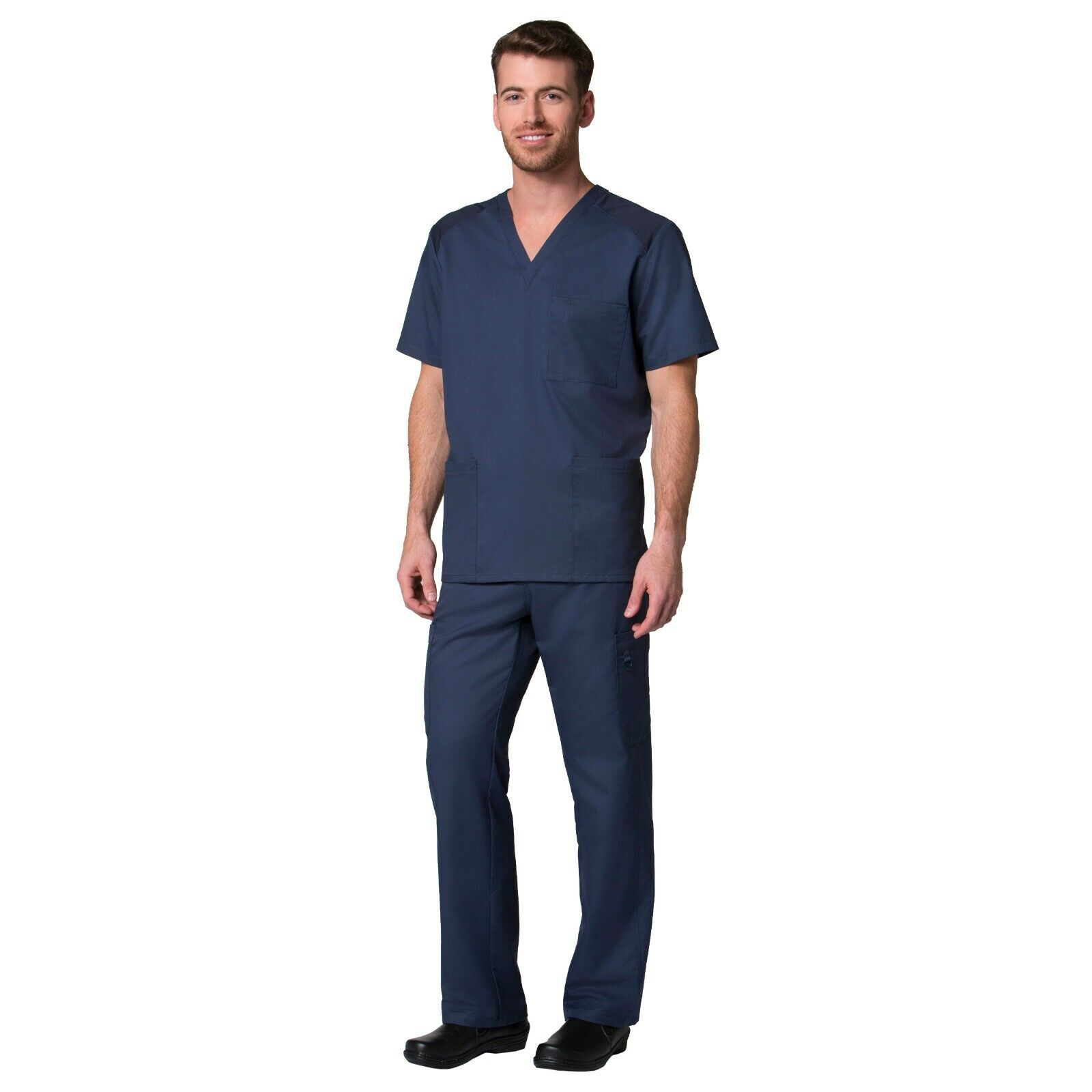 Maevn Scrubs Set EON Men/'s One Pocket V-Neck Top /& Elastic Cargo Pants 5208//8308