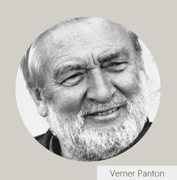 Verner Panton, Flowerpot VP4 bordlampe, bordlampe