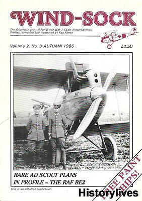 Windsock International V2 N3 RAF BE2 Resin Kits AD Scout Halberstadt CLIV French