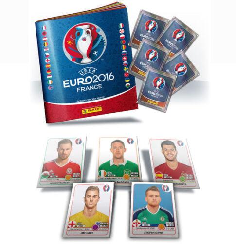Panini euro 16 2016 Fútbol Balonpié Pegatinas-Elegir las pegatinas que usted necesita