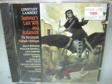 Constant Lambert: Summer's Last Will and Testament (CD, Apr-1992, Hyperion)