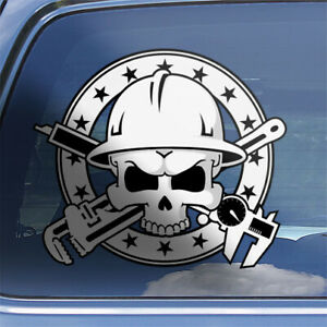Millwright-Skull-Crossbones-Decal-millwright-tradesman-hardhat-sticker-CR