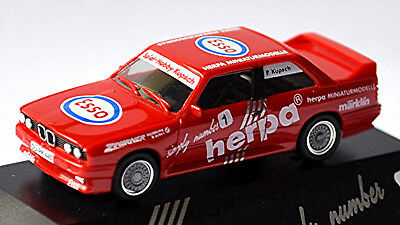 Red Red 1:87 Herpa zwirner Duisburg Obedient Bmw M3 E30 Herpa Simply Number 1 Esso