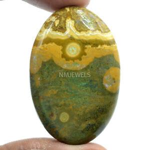Cts-67-90-Natural-Ocean-Jasper-Cabochon-Oval-Cab-Loose-Gemstones