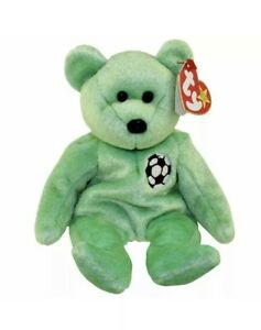 SAMMY the Bear TY Beanie Baby - MWMTs Stuffed Animal Toy 8.5 inch