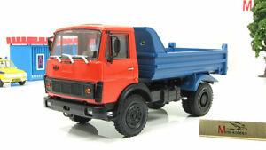 Scale-car-1-43-MAZ-5551-1985-93-red-blue