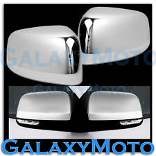 11-15 JEEP GRAND CHEROKEE TOP Half Triple Chrome plated Mirror Cover 2014