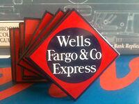 wells Fargo & Co. Express Classic Railroad Porcelain Magnet