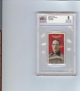 RARE 1909-1911 T206 Fred Clarke Portrait Piedmont 150 Pittsburg BVG 5 EX