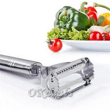Praktisch Edelstahl Kartoffel Gemüse Obst Schäler Schneidmaschine Werkzeug KAKI